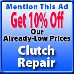 Clutch Replacement Special Offer